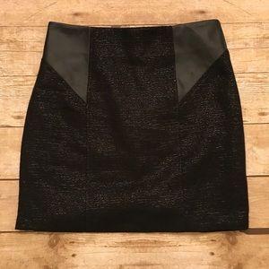 NWT BCBGeneration Black Skirt Size 4